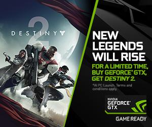 GeForce GTX Destiny 2 Bundle plus Graphics & Performance Guide Released