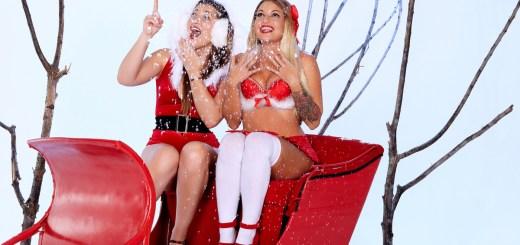 Twistys Dani Daniels & Kissa Sins in Santa's Ride 4