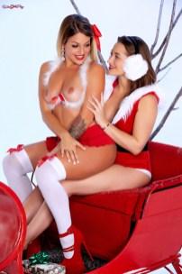 Twistys Dani Daniels & Kissa Sins in Santa's Ride 6