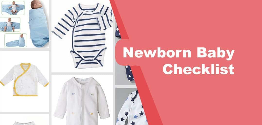 Newborn Baby Checklist - New Mom Guide