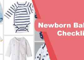 Newborn Baby Checklist – New Mom Guide
