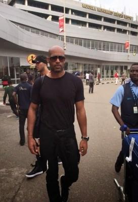 Hollywood Actor Boris Kodjoe Spotted In Lagos