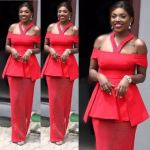 Annie Idibia Dazzle In Red