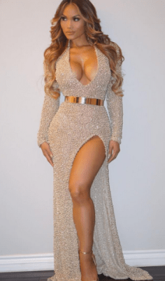 50 Cent Drool Over Baby Mama In This Sic' Two-piece