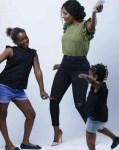 Annie Idibia & Daughters In Cute Photo