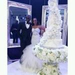 Davido's Elder Sister,Coco Weds In Dubai