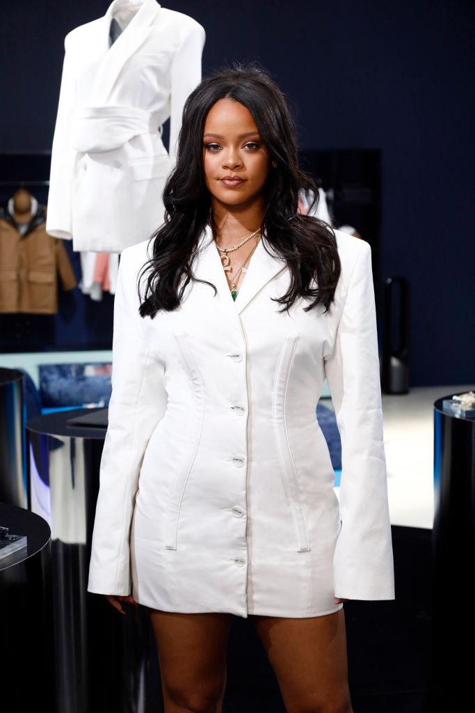 Rihanna's Style at the Fenty pop-up boutique in Paris
