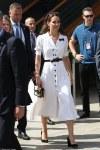 Duchess of Cambridge stuns in white at Wimbledon