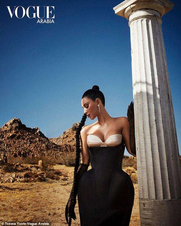 Kim Kardashian West stuns for Vogue Arabia