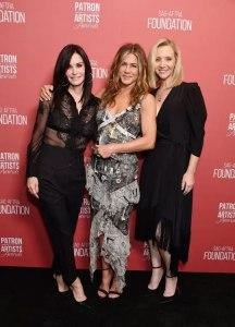 Jennifer Aniston, Courtney Cox and Lisa kudrow