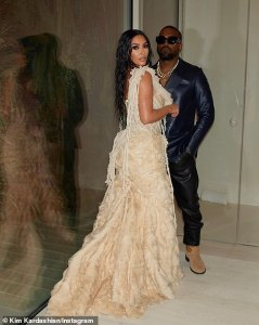 Kim Kardashian and Kylie Jenner stun at the Vanity Fair Oscars party