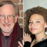 Steven Spielberg and Mikaela Spielberg