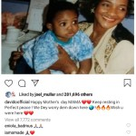 Davido and mum