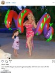 Coco Austin and daughter ,Chanel in cute photo