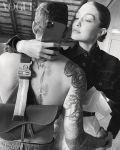 Pregnant Gigi Hadid and Zayn Malik Photo For British Vogue