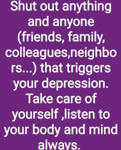 What triggers depression and how to manage it