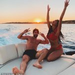 Nicole Scherzinger show off photos from her birthday getaway with Thom Evans