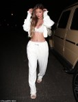 Kylie Jenner brings the heat in white chic ensemble