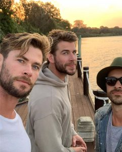 Zac Efrom,Liam and Chis Hemsworth