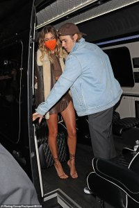 Kylie and Kendall Jenner's style at Justin Bieber's album party