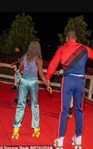 Dwayne Wade and Zaya