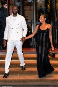 Gabrielle Union and Dwayne Wade Date night