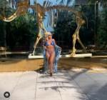 Ashanti shows off 33 days gym body