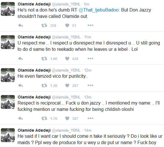 Watch The Full Drama At he Headies + Olamide's Angry Tweets {Video}