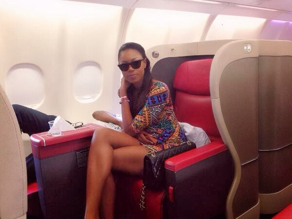 Friend With Money : Yvonne Nelson & Majid Michel In A Private Jet