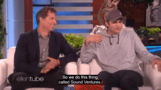 Ashton Kutcher donates $4 million to Ellen DeGeneres' Wildlife Fund