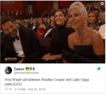 Fans believe Lady Gaga and Bradley Cooper are in Love