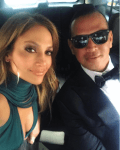Jennifer Lopez & Alex Rodriguez On Date Night