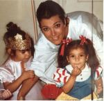 Check Out Throwback Photo Of Kim & Kourtney Kardashian