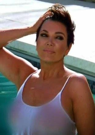 Wet T-shirt Contest : Kim Kardashian Vs Kris Jenner
