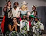 Check Out Photo Of Madonna And Her Children