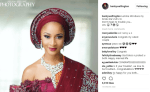 "Banky W Gush About His Bride ""Mrs W"""