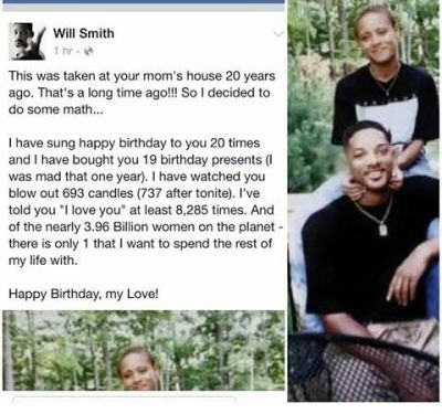 Will Smith's Birthday Message To Jada Pinkett Will Make Your Heart Melt
