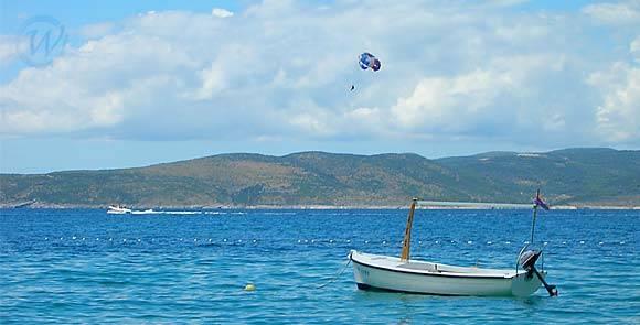 Dalmatia on the Adriatic sea