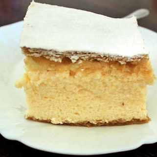 Kremšnita cake in Samobor