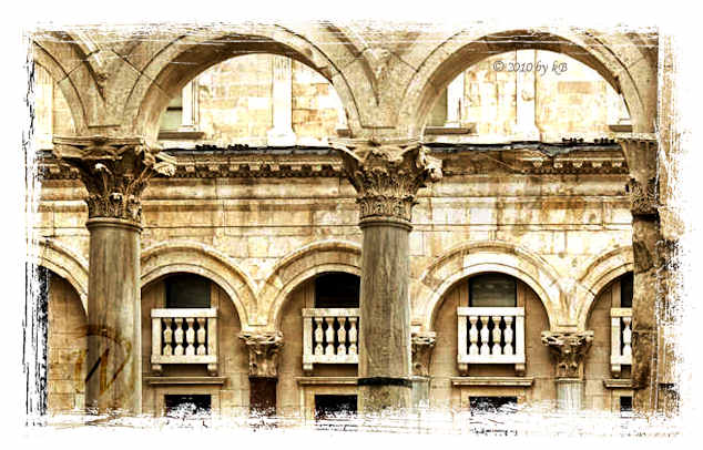 Diocletian Palace, 4ct, Split