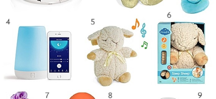 30 Unique Baby Shower Gift Ideas: soothing sounds