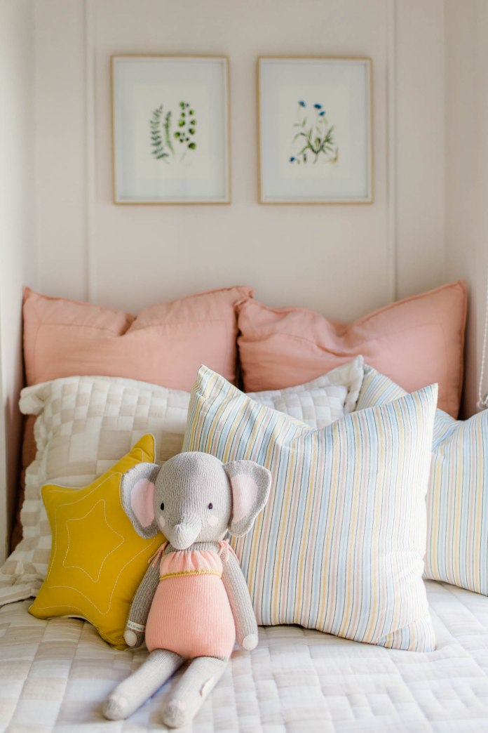 Elephant on bed