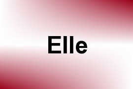 Elle - Given Name Information and Usage Statistics