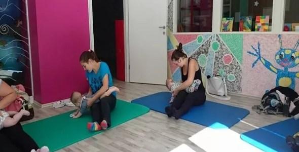Razvojno gibalne vadbe za dojenčke