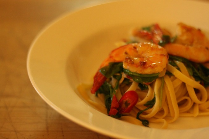 Recipe roulette prawn chilli linguine babymac prawn chilli linguine forumfinder Image collections