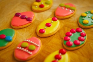 Easter cheat cookies