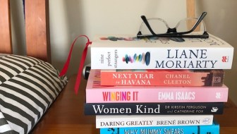 Holiday Reading Stack