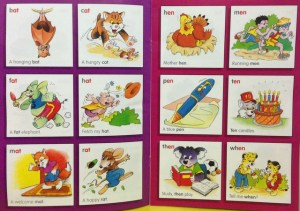 Inside pages phonics book