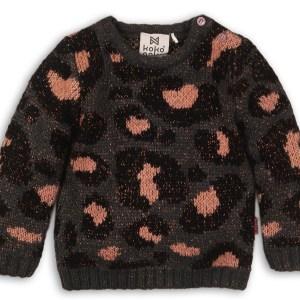 sweater panterprint anthracite