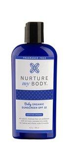 Nurture My Body Organic Baby Sunscreen